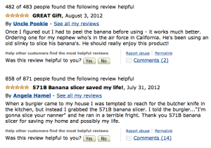 Reviews for Hutzler 571B Banana Slicer